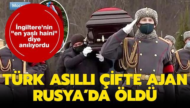 """İngiltere'nin """"en yaşlı haini"""" diye anılıyordu: Türk asıllı çifte ajan 98 yaşında öldü"""