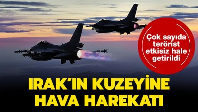 MSB duyurdu... PKK'lı teröristlere hava harekatı: Etkisiz hale getirildiler