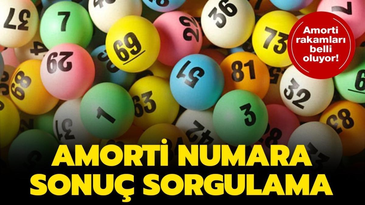 """Milli Piyango 2021 amorti sorgulama sayfası! Amorti rakamları kaç, hangi numaralar açıklandı"""""""