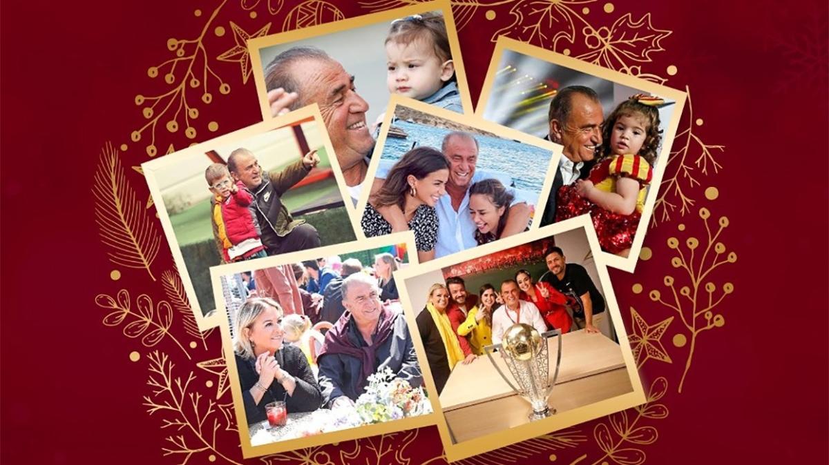 Fatih Terim'den yeni yıl mesajı: Neşeniz bol, keyfiniz bereketli olsun