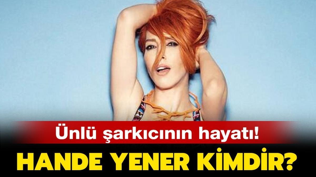 """İbo Show yılbaşı konuğu Hande Yener kimdir"""" Hande Yener kaç yaşında, nereli, albümleri neler"""""""
