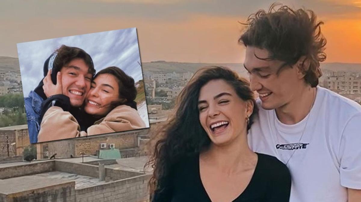 Ebru Şahin'e Cedi Osman'dan aşk paylaşımı