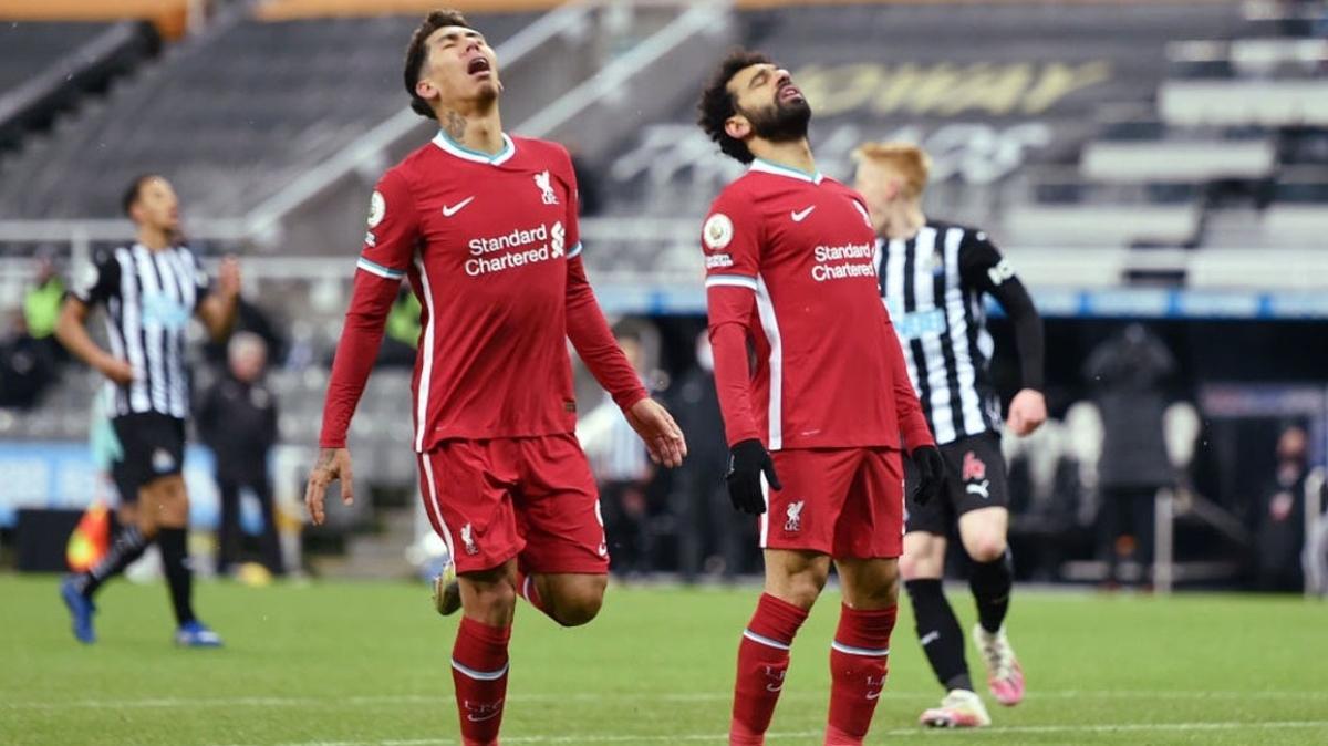 Liverpool üst üste 2. kez sahadan beraberlikle ayrıldı