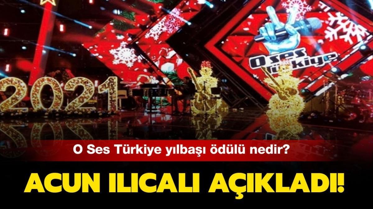 """O Ses Türkiye 2021 birincisi ne kazanacak"""" O Ses Türkiye yılbaşı ödülü belli oldu!"""