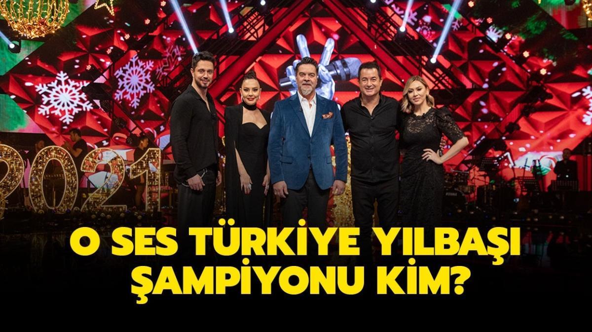 O Ses Türkiye yılbaşı şampiyonu belli oldu! O Ses Türkiye 2021'in kazanan ismi!