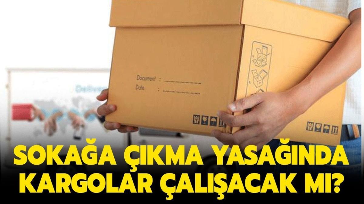 """Sokağa çıkma yasağında kargolar açık mı"""" 1 Ocak Yurtiçi, MNG, Aras, Sürat, PTT kargo çalışıyor mu"""""""