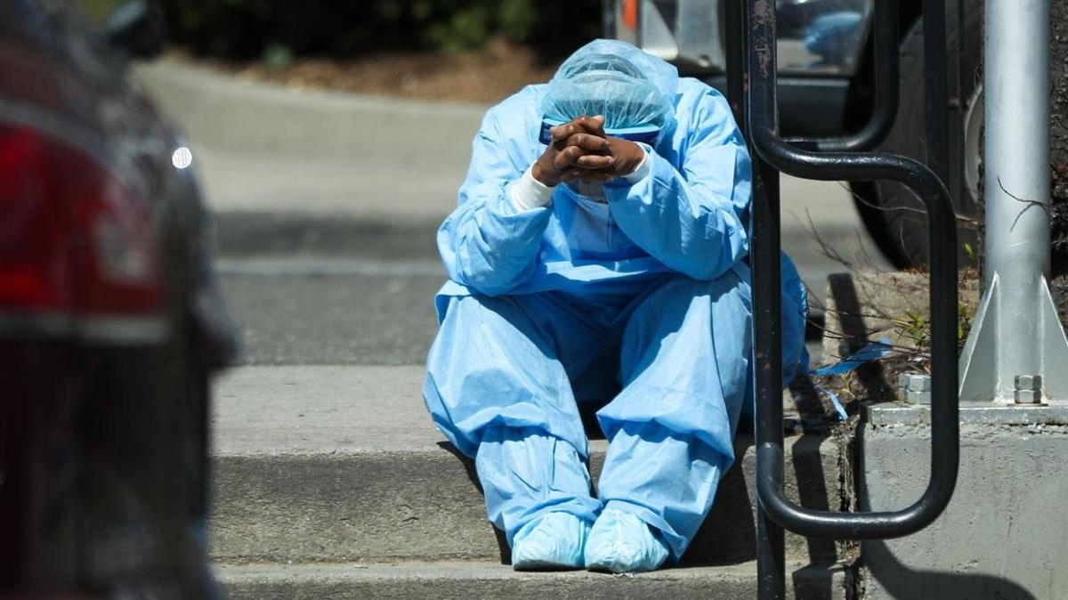 Son dakika haberleri... ABD'de koronavirüsten son 24 saatte 4 bin 304 kişi hayatını kaybetti