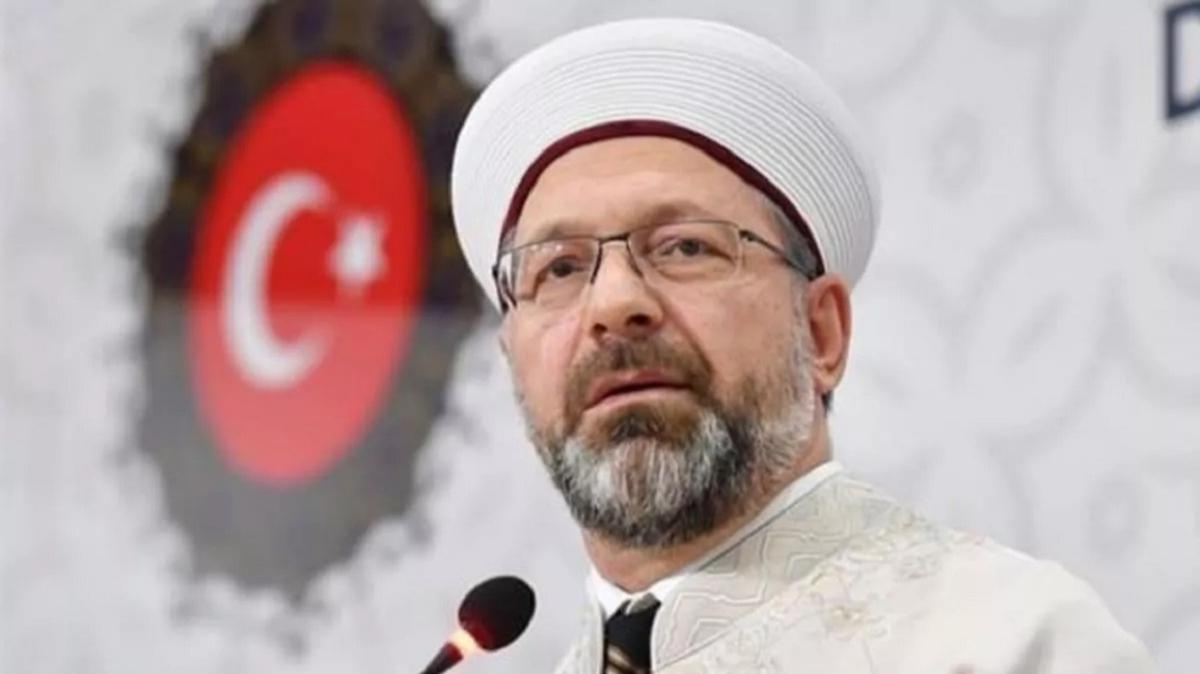 Diyanet İşleri Başkanı Erbaş'tan Ayasofya tepkisi