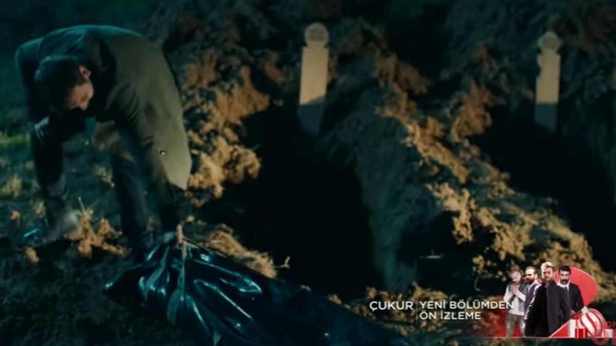 Yamaç, Cengiz'in oğlunu kazıdığı mezara taşıyor! İşte Çukur dizisi 110.yeni bölüm ön izlemede nefes kesen sahne