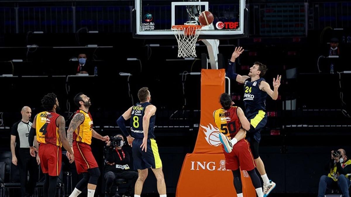 Fenerbahçe Beko, potadaki derbide Galatasaray'ı rahat yendi