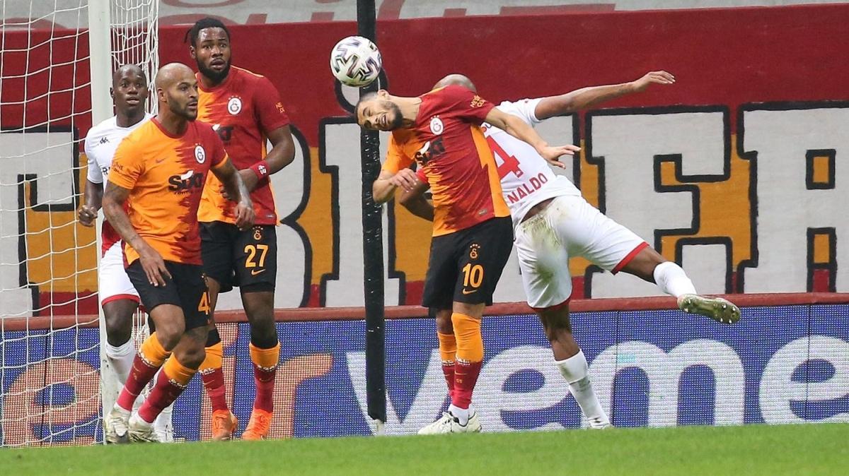 Galatasaray, liderliği Alanyaspor'a bıraktı