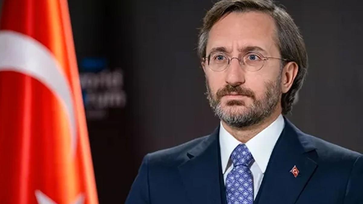 """Fahrettin Altun: PKK bu cürümleri işlerken onun yandaşları devletimize """"katil"""" dedi"""