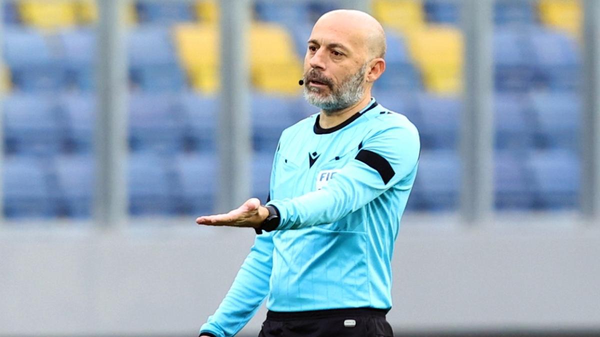 Kayserispor-Beşiktaş maçının VAR hakemi Cüneyt Çakır oldu