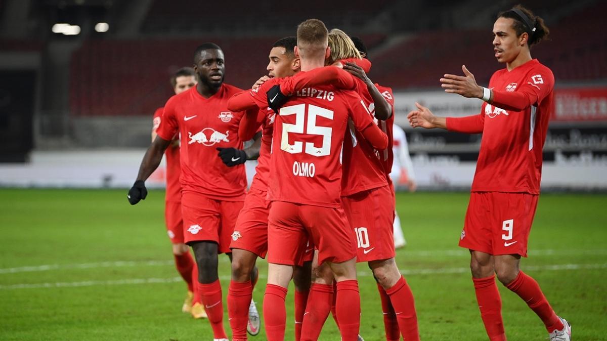 Leipzig maç fazlasıyla lider