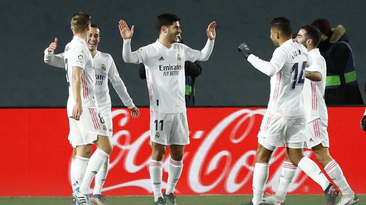 Real Madrid kazandı, liderlik koltuğuna oturdu