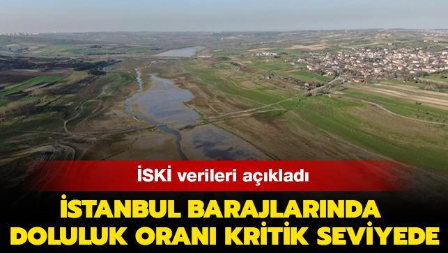 Uzmanından önemli açıklamalar: İstanbul'da barajların doluluk oranı kritik seviyede
