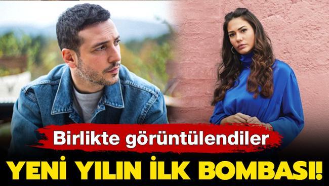 Yeni yılın ilk aşk bombası! Demet Özdemir ile Oğuzhan Koç birlikte görüntülendi