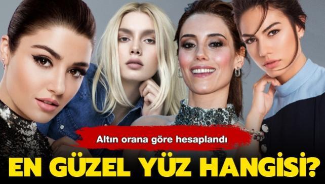 """Hande Erçel mi Demet Özdemir mi Aleyna Tilki mi Cansu Dere mi"""" Altın orana göre en güzel yüze sahip isim belli oldu!"""