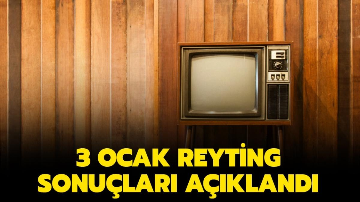 """3 Ocak reyting sonuçları netleşti! Dün en çok ne hangi dizi izlendi"""""""