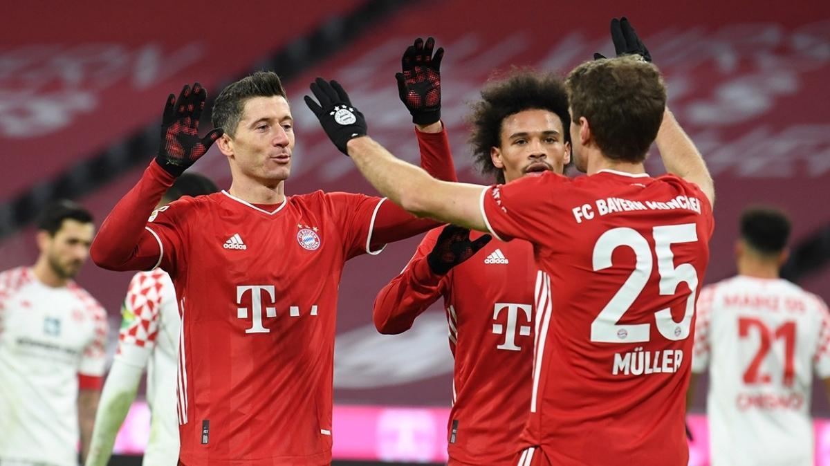 Bayern Münih, Mainz 05'i 5'ledi
