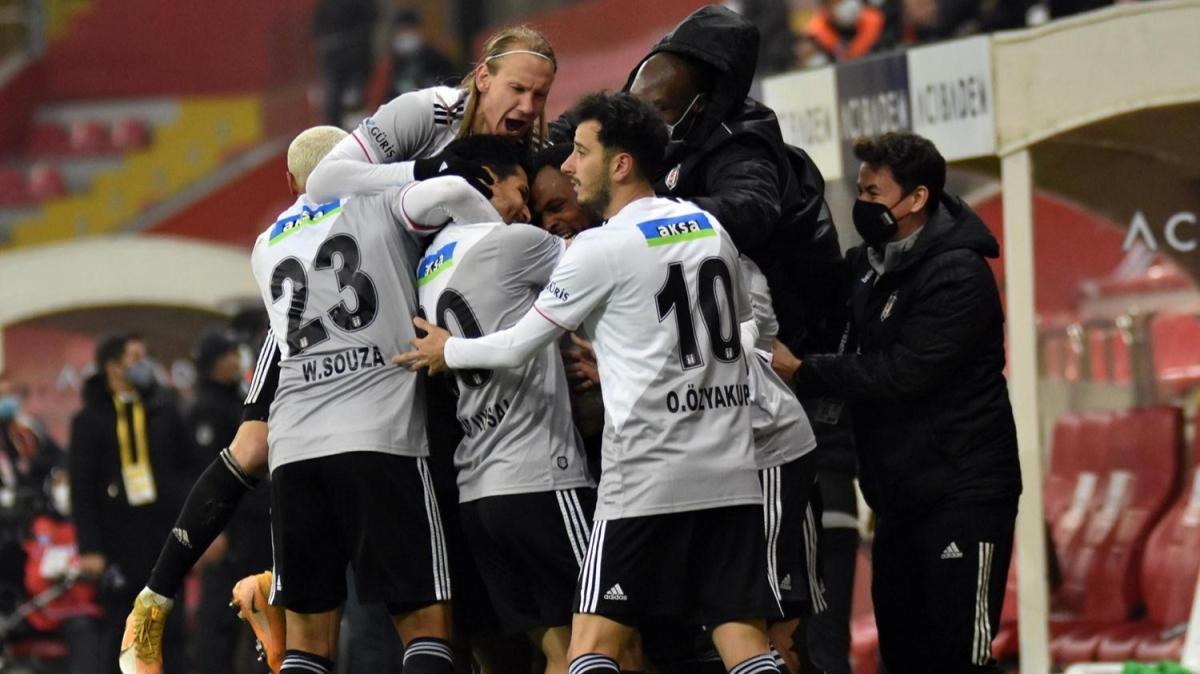 Beşiktaş son 4 maçını gol yemeden kazandı
