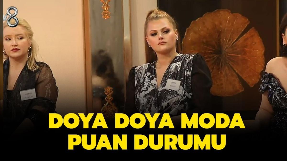 """Doya Doya Moda 4 Ocak Pazartesi güncel puan durumu! Doya Doya Moda'da dün kim birinci oldu"""""""