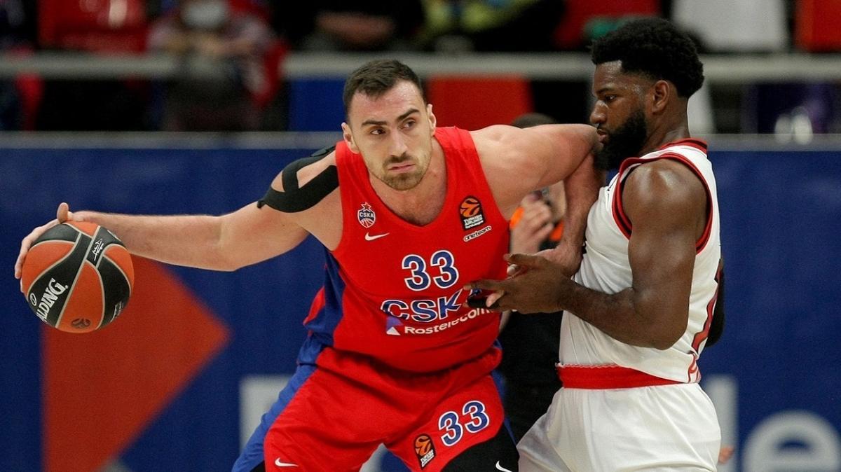 THY Avrupa Ligi'nde ayın MVP'si Nikola Milutinov