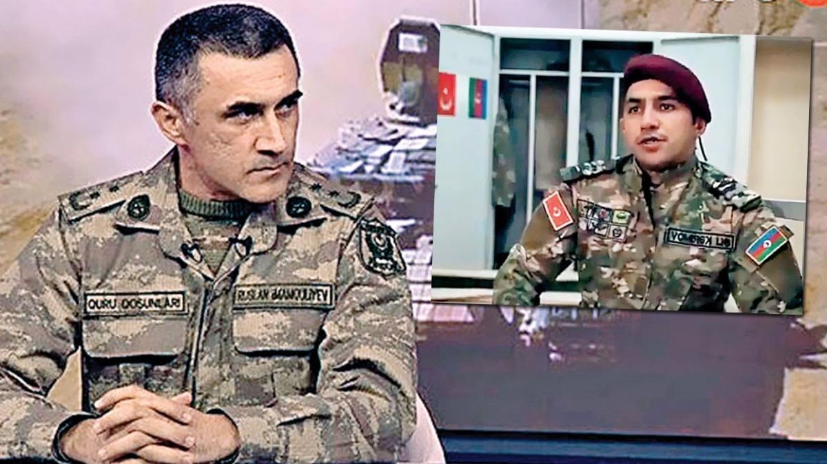 Kahramanlar Karabağ zaferini anlattı! Türkiye'nin eğittiği askerler ön safta savaştı