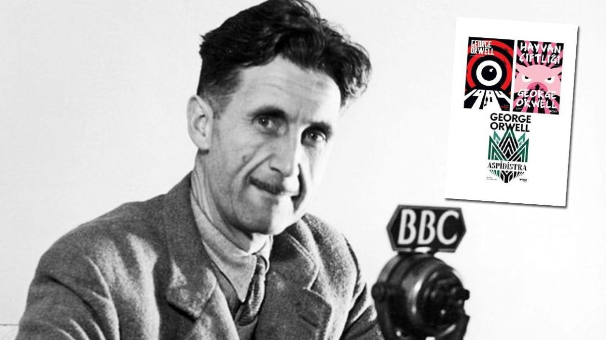Yayınevleri artık George Orwell'i özgürce basacak