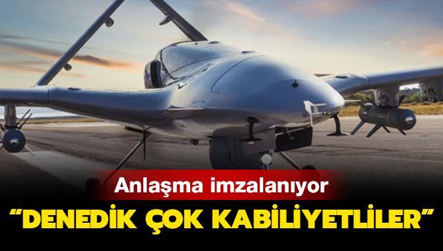 Türk İHA'larına büyük övgü: Denedik, çok kabiliyetliler