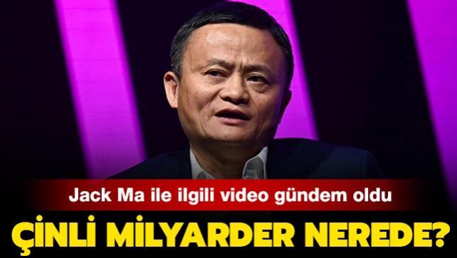 """Alibaba'nın kurucusu Jack Ma ile ilgili video gündem oldu: Ünlü milyarder nerede"""""""