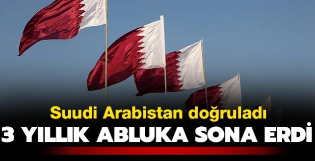 Suudi Arabistan doğruladı... Katar'a uygulanan 3 yıllık abluka kalktı