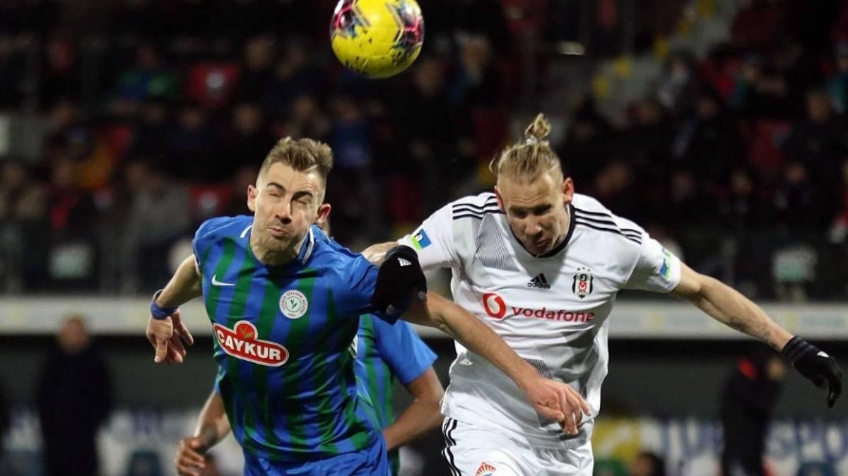 Çaykur Rizespor Beşiktaş'ı 16 maçtır yenemiyor