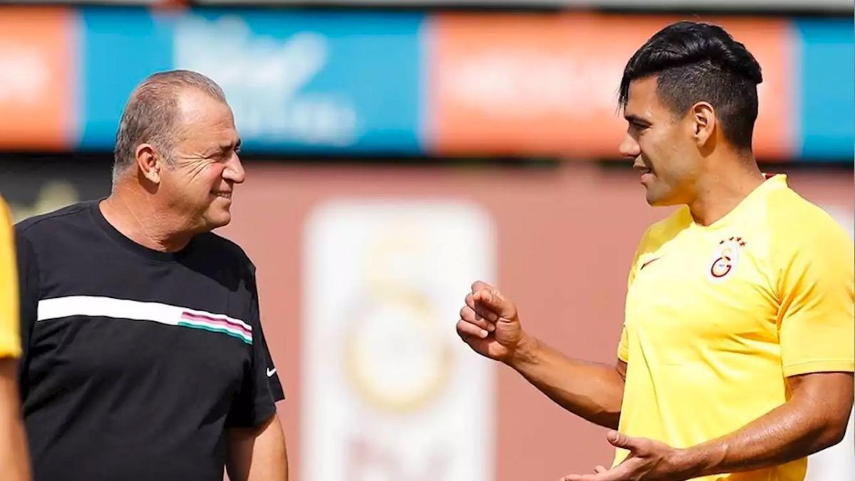 Radamel Falcao, Galatasaray'ı sildi