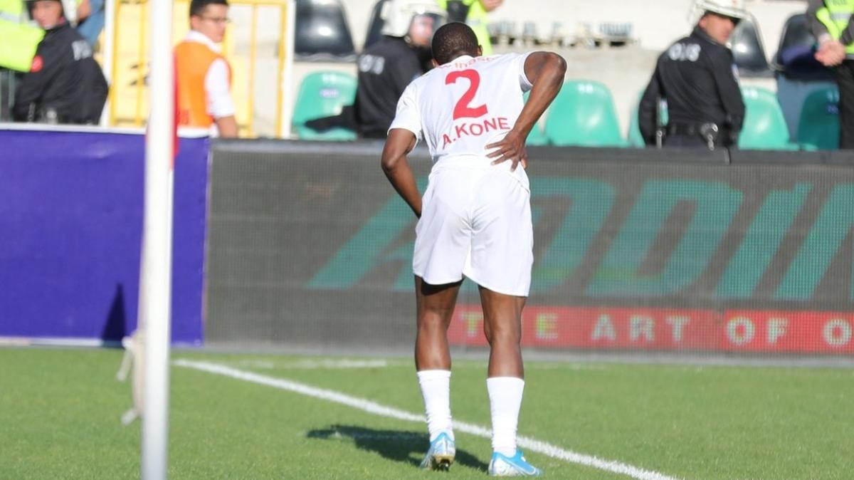 Sivasspor'un 'Dede' lakaplı oyuncusu Arouna Kone, dalya dedi