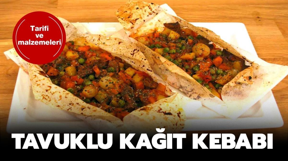 "Gelinim Mutfakta Tavuklu kağıt kebabı tarifi: Tavuklu kağıt kebabı nasıl yapılır"""