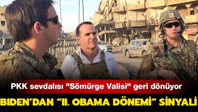 """PKK sevdalısı """"Sömürge Valisi"""" geri dönüyor: Biden'dan """"II. Obama Dönemi"""" sinyali"""