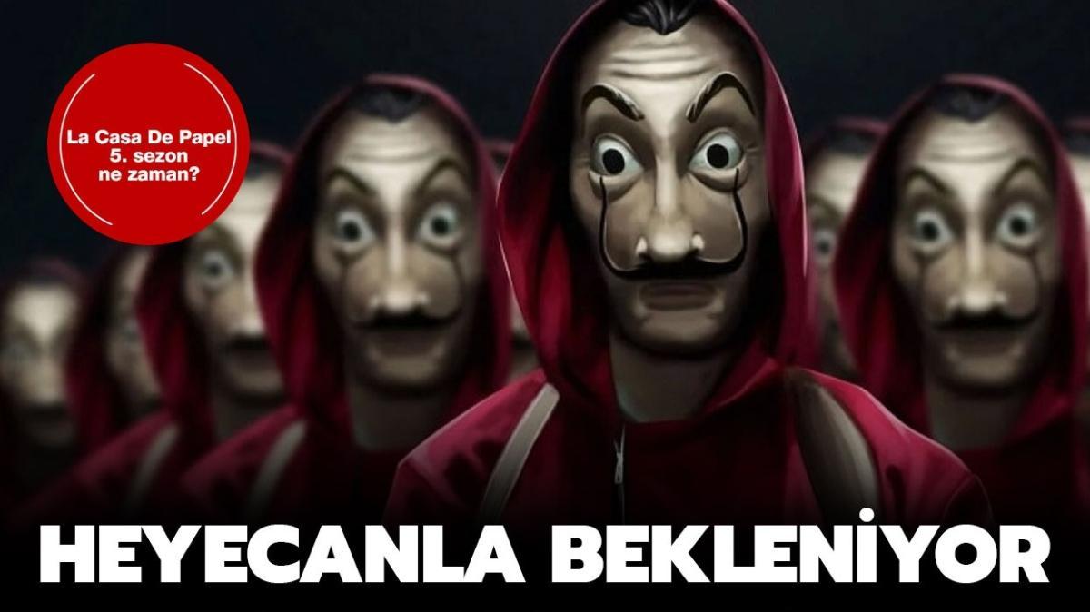 "Netflix La Casa De Papel 5. sezon fragmanı geldi mi"" La Casa De Papel 5. sezon ne zaman başlayacak"""