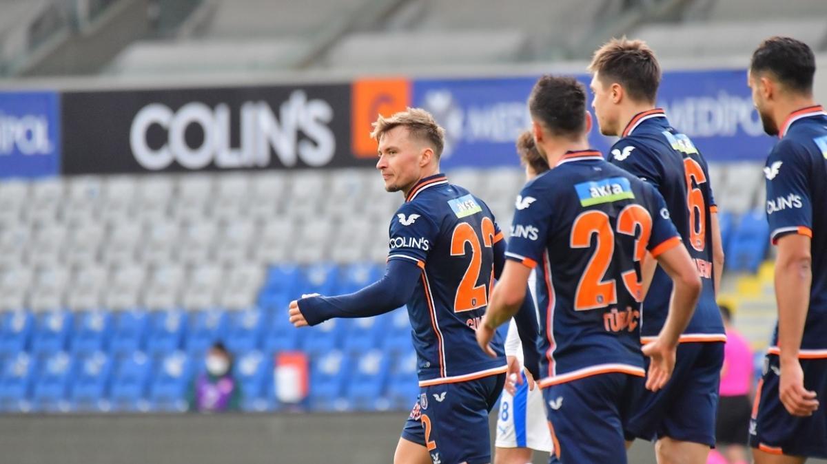 Medipol Başakşehir sahasında BB. Erzurumspor'u 1-0 mağlup etti
