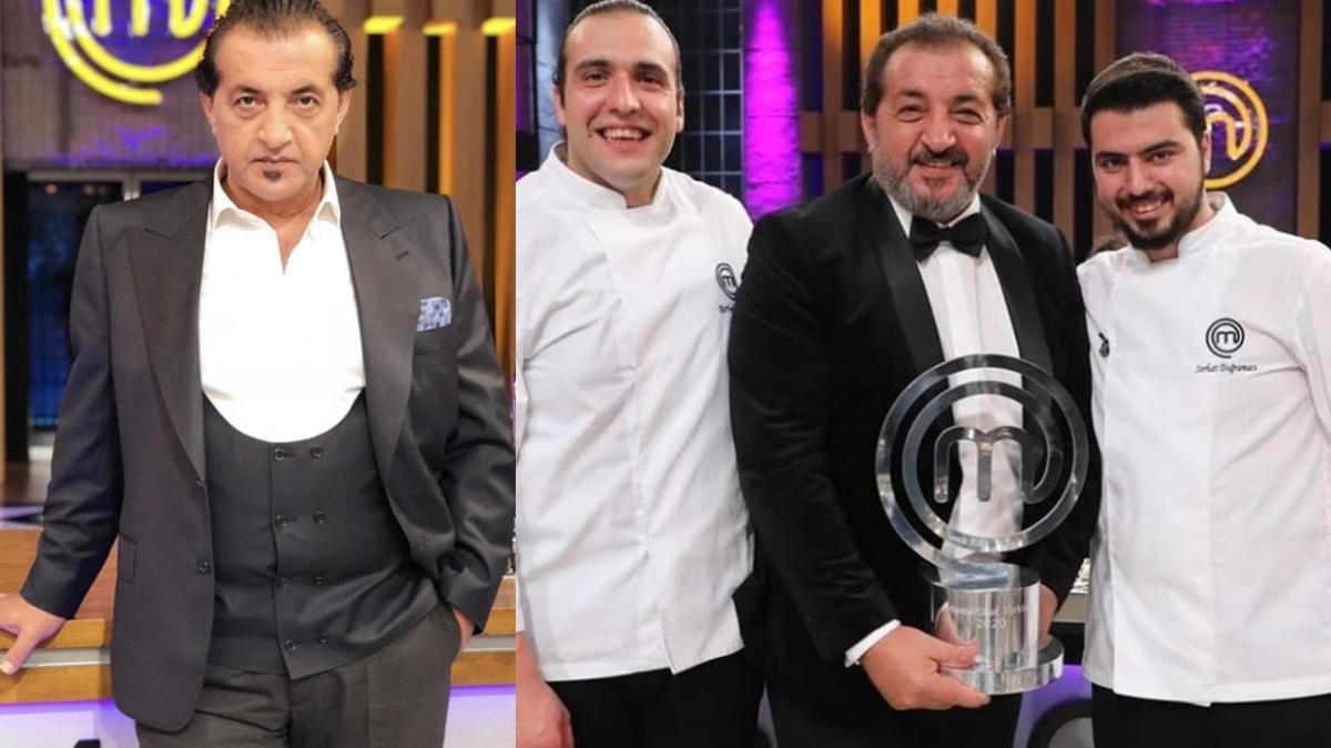 Mehmet Yalçınkaya'dan MasterChef şampiyonu Serhat Doğramacı'ya cevap