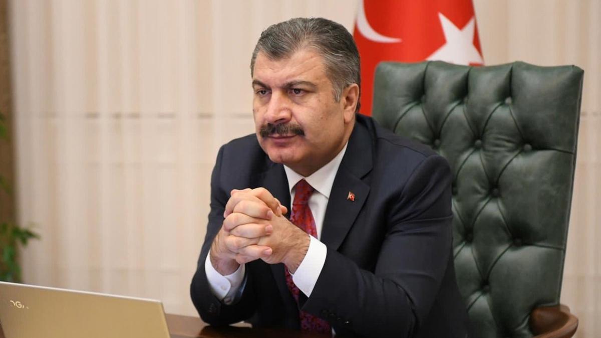 Son dakika haberleri... Sağlık Bakanı Koca'dan kritik görüşme