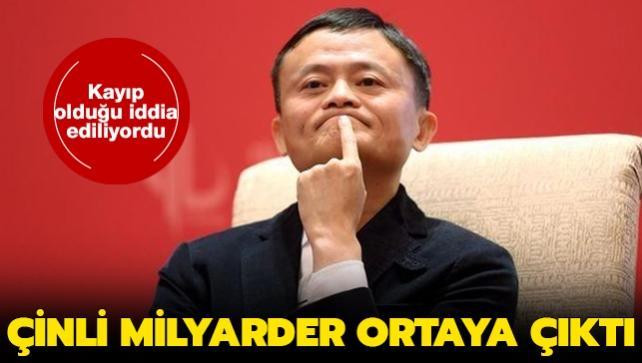 Alibaba'nın kurucusu milyarder Jack Ma ortaya çıktı: Kayıp değil gizleniyormuş