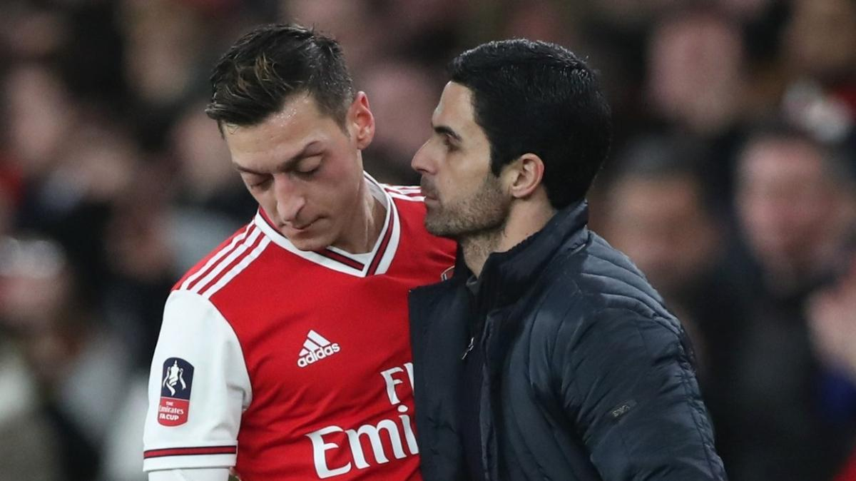 Arteta'dan Mesut Özil açıklaması: 'Çözüm bulamazsak...'