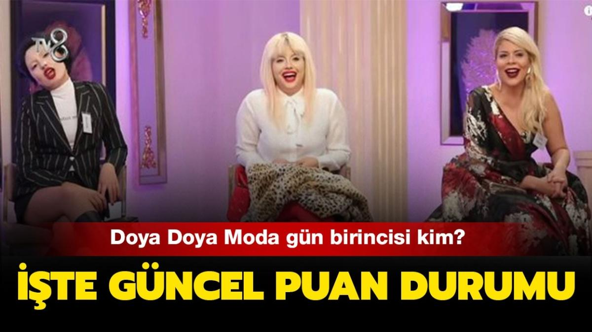 Doya Doya Moda 7 Ocak Perşembe birincisi: Doya Doya Moda güncel puan durumu tablosu yayında!