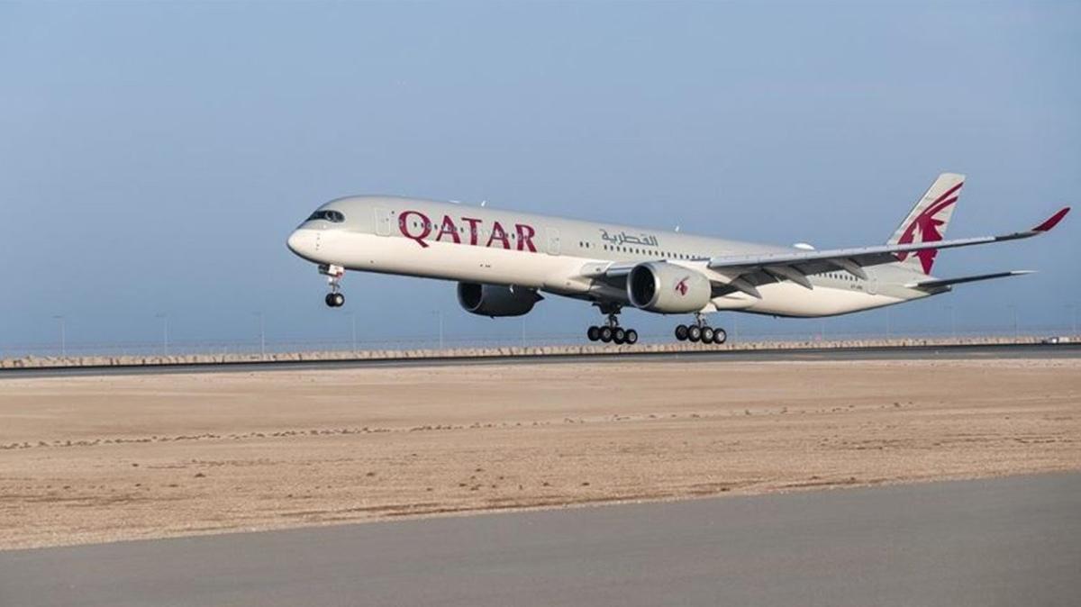 Körfez krizinin sona erdi... Katar Hava Yolları yeniden Suudi Arabistan hava sahasını kullanmaya başladı