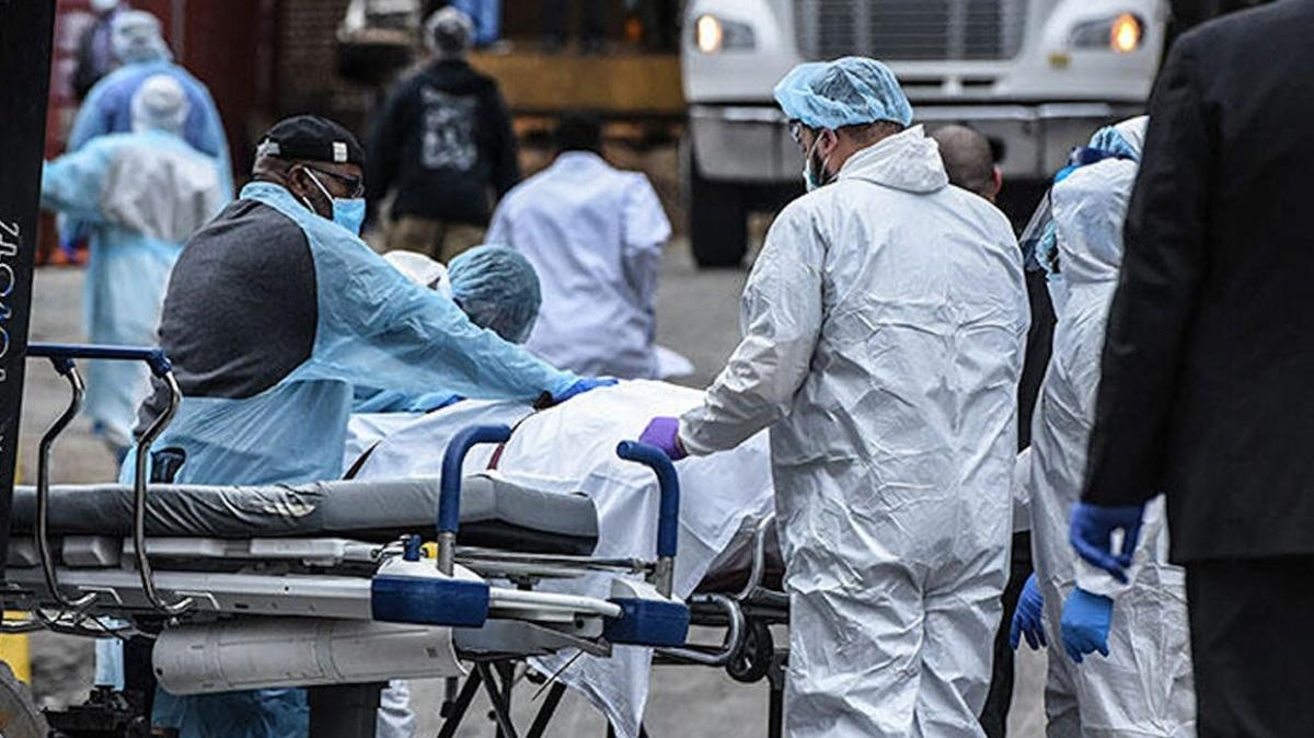Son dakika haberleri... ABD'de koronavirüsten son 24 saatte 4 bin 331 kişi hayatını kaybetti