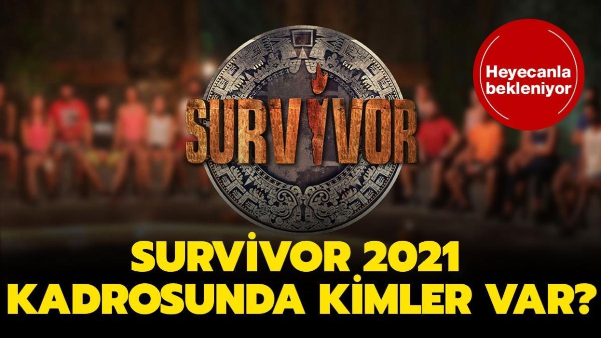 """Survivor 2021 ünlüler ve gönüllüler kadrosunda kimler var"""" Survivor 2021 yarışmacıları belli oldu!"""