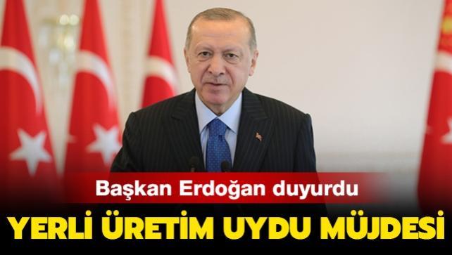Başkan Erdoğan duyurdu... Yerli üretim uydu müjdesi!