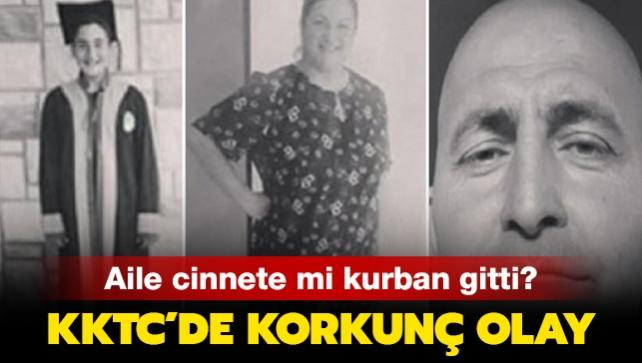 """KKTC'de korkunç olay! 3 kişilik aile cinnete mi kurban gitti"""""""