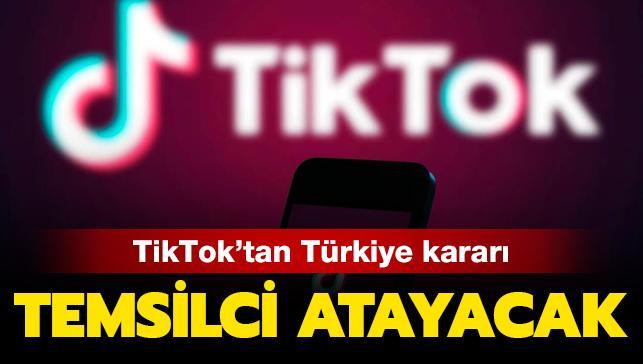 Son dakika haberi: TikTok da Türkiye'ye temsilci atayacak